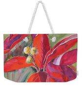 Scarlet Weekender Tote Bag