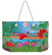 Scarlet Party - Limited Edition 1 Of 20 Weekender Tote Bag