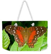 Scarlet Peacock Butterfly Weekender Tote Bag