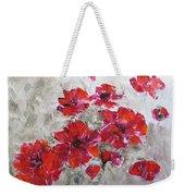 Scarlet Poppies Weekender Tote Bag