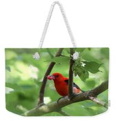 Scarlet Tanager - Fallout Weekender Tote Bag