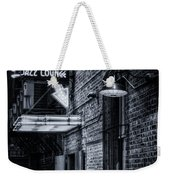 Scat Lounge In Cool Black And White Weekender Tote Bag