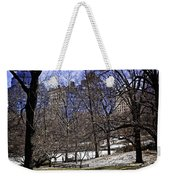 Scene From Central Park - Nyc Weekender Tote Bag by Madeline Ellis
