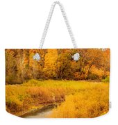 Scene Of Gold Weekender Tote Bag