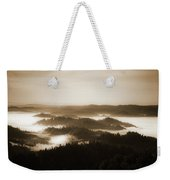 Scenery With Silhouettes Weekender Tote Bag