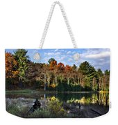 Scenic Autumn At Oakley's Weekender Tote Bag