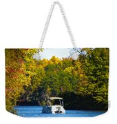 Scenic Autumn Viewing Weekender Tote Bag
