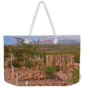 Scenic Boothill Cemetery In Tombstone Arizona Weekender Tote Bag