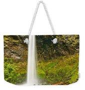 Scenic Elowah Falls In The Columbia River Gorge In Oregon Weekender Tote Bag