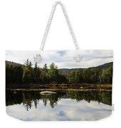 Scenic Lily Pond Weekender Tote Bag