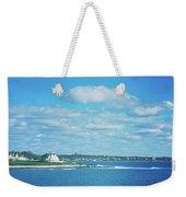 Scenic View Of Atlantic Ocean Weekender Tote Bag