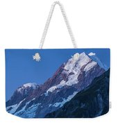 Scenic View Of Mountain At Dusk Weekender Tote Bag