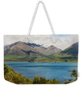 Scenic View On Lake Wakatipu Weekender Tote Bag