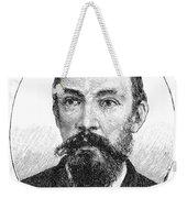 Schalk Willem Burger (1852-1918) Weekender Tote Bag