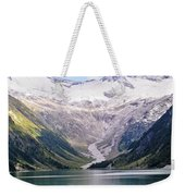 Schlegeis Dam And Reservoir  Weekender Tote Bag