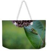 Schlitz Audubon Tree Frog Weekender Tote Bag