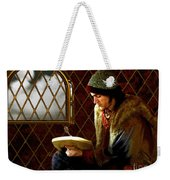 Scholar By Moonlight Weekender Tote Bag