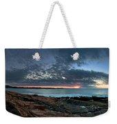 Schoodic Point Sunrise 7218 Weekender Tote Bag