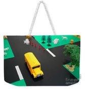 School Bus School Weekender Tote Bag