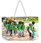 School Children In Gyeongju Korea Weekender Tote Bag