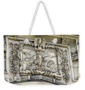 School Crest Weekender Tote Bag