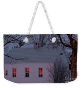 School House Sunset Weekender Tote Bag