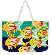 School Of Fish Weekender Tote Bag