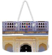 Schoolchildren At The Women's Palace - Jaipur India Weekender Tote Bag