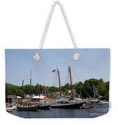 Schooner - Camden Harbor - Maine Weekender Tote Bag