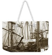 Schooner Luisa D Sails For Nome Alaska  About April 18 1902 Weekender Tote Bag