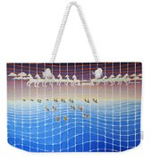 Schooner Race Horse Clouds Weekender Tote Bag