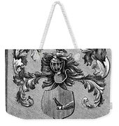 Schuyler Family Arms Weekender Tote Bag