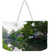 Schuylkill Canal Mont Clare Weekender Tote Bag