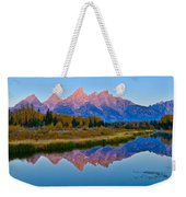 Schwabacher Dawn Weekender Tote Bag