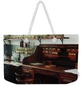 Scientist - Office In Chemistry Lab Weekender Tote Bag by Susan Savad