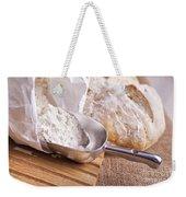 Scoop Of Flour And Fresh Bread Weekender Tote Bag
