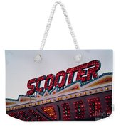 Scooter Weekender Tote Bag by Cindy Garber Iverson