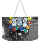 Scooter Spotlights Weekender Tote Bag