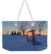 Scoring The Sunset Weekender Tote Bag by Darcy Michaelchuk