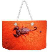 Scorpion Red Sand Sting Insect Weekender Tote Bag