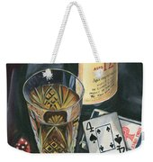Scotch And Cigars 2 Weekender Tote Bag by Debbie DeWitt