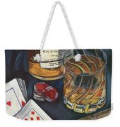 Scotch And Cigars 4 Weekender Tote Bag by Debbie DeWitt