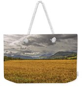 Scotland - Golden Fields And Green Hills Weekender Tote Bag