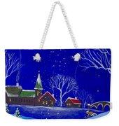 Scottie Sleigh Ride Weekender Tote Bag