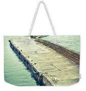 Scottish Harbour Weekender Tote Bag
