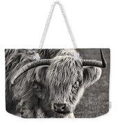 Scottish Highland Cow Weekender Tote Bag