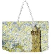 Starry Scrabo Tower Weekender Tote Bag