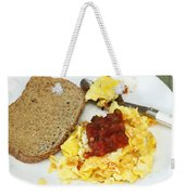 Scrambled Eggs And Salsa Weekender Tote Bag