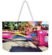 Scrambler Blur Weekender Tote Bag