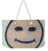 Scratch Below The Surface Weekender Tote Bag